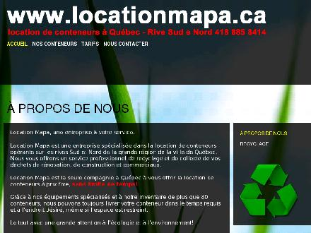 Location MAPA (418-800-7714) - Website thumbnail - http://www.locationmapa.ca