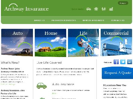 Archway Insurance-Harding (506-622-4087) - Website thumbnail - http://www.archwayinsurance.ca