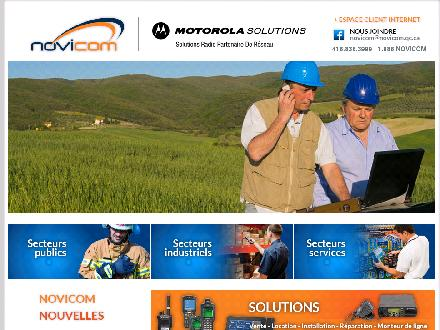 Novicom 2000 Inc (418-838-3999) - Onglet de site Web - http://www.novicom.qc.ca