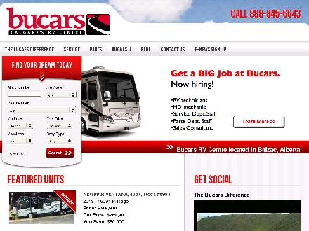 Bucars R V Centre (403-207-1666) - Website thumbnail - http://www.bucarsrv.com