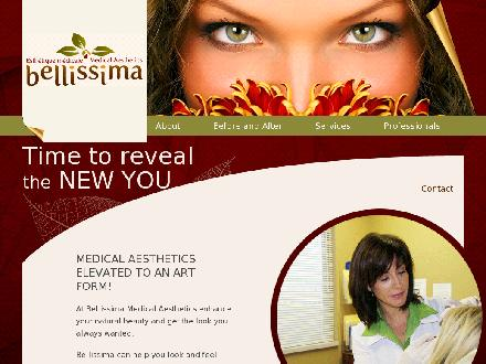 Bellissima Medical Aesthetics (506-800-0615) - Website thumbnail - http://www.bellissimamedical.com