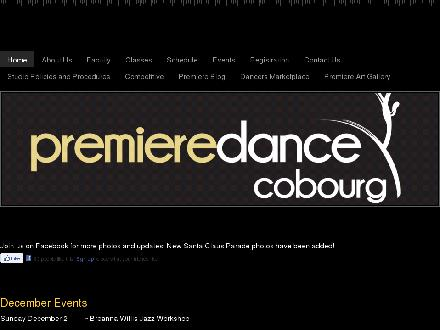 Premiere Dance Colbourg (905-377-0711) - Website thumbnail - http://www.premieredancetheatre.ca