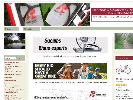 Speed River Bicycle Inc (226-314-0961) - Onglet de site Web - http://www.speedriver.com