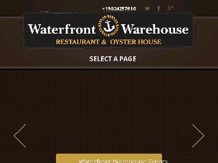 Waterfront Warehouse (902-425-7610) - Website thumbnail - http://www.waterfrontwarehouse.ca