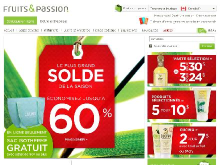 Fruits-Passion.ca - Onglet de site Web - http://www.fruits-passion.ca