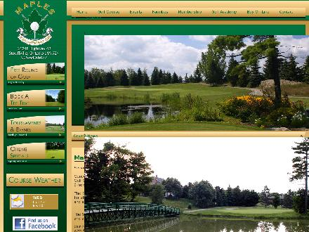 Maples Of Ballantrae Golf (905-640-6077) - Onglet de site Web - http://www.maplesofballantrae.com
