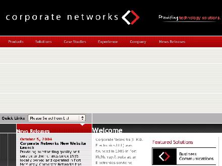 Corporate Networks (780-790-1564) - Website thumbnail - http://www.corpnet.ca