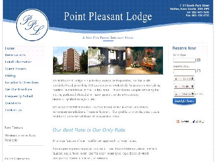 Point Pleasant Lodge (902-421-1599) - Onglet de site Web - http://www.pointpleasantlodge.com