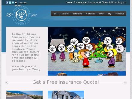 Costen & Associates Insurance & Financial Planning Ltd (403-245-2424) - Website thumbnail - http://www.costeninsurance.com
