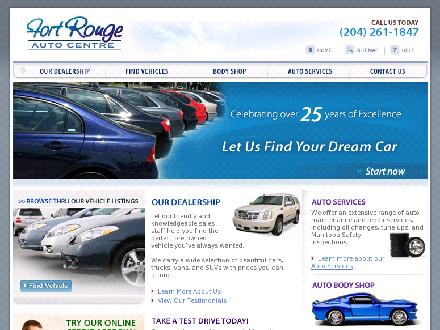 Fort Rouge Auto Body (204-453-1653) - Onglet de site Web - http://www.fortrouge.com