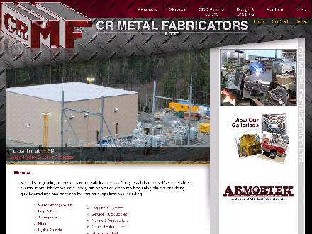 C R Metal Fabricators Ltd (250-286-7454) - Onglet de site Web - http://www.crmf.bc.ca