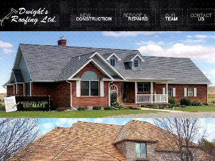 Dwight's Roofing Ltd (780-461-8995) - Website thumbnail - http://www.dwightsroofing.com
