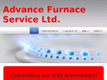 Advance Furnace Service Ltd (403-239-8717) - Onglet de site Web - http://www.advancefurnaceservice.ca