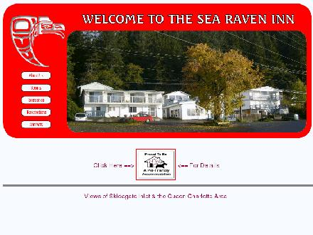 Sea Raven Motel Ltd (250-559-4423) - Website thumbnail - http://www.searaven.com