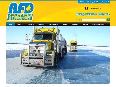 AFD Petroleum Ltd (867-667-6211) - Website thumbnail - http://www.afdpetroleum.com