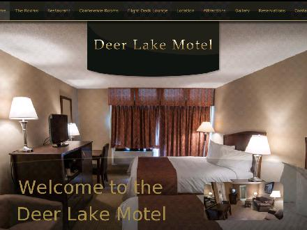 Deer Lake Motel (1-866-265-3875) - Website thumbnail - http://www.deerlakemotel.com
