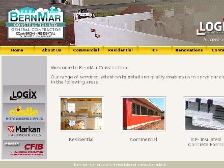 BernMar Construction Ltd (902-368-8917) - Website thumbnail - http://www.bernmarconstruction.com