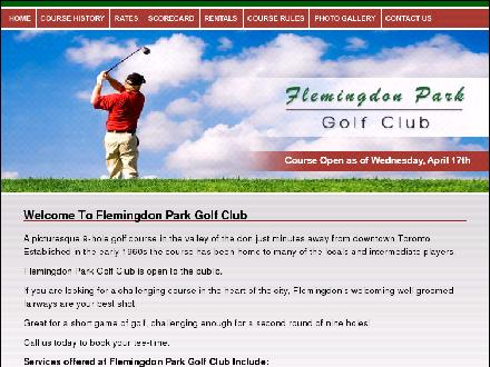 Flemingdon Park Golf Club (416-429-1740) - Website thumbnail - http://www.flemingdonparkgolfclub.com