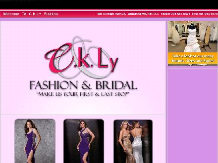 C K Ly Fashion (204-582-0378) - Onglet de site Web - http://www.cklyfashion.com