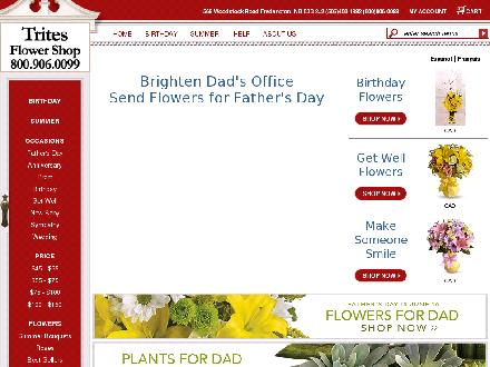 Bryden's Trites Flower Shop (506-458-1992) - Website thumbnail - http://www.frederictonflowers.com