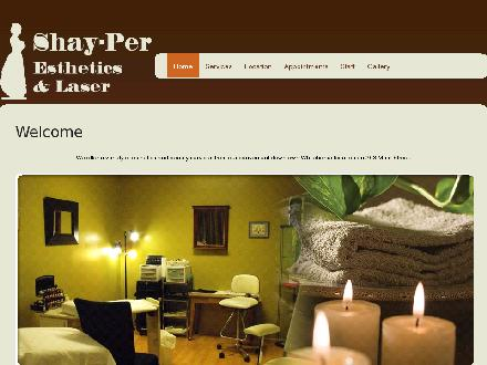 Shay-Per Personal Care Studio (867-667-7799) - Website thumbnail - http://www.shay-per.com