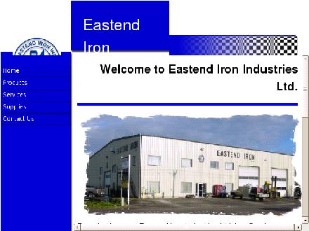 Eastend Iron Industries Ltd (403-223-2620) - Website thumbnail - http://www.eastendiron.com