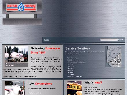 Mutual Propane Ltd (780-451-4454) - Website thumbnail - http://www.mutualpropane.ab.ca
