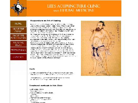 Lees Acupuncture Herbal Clinic (604-850-7084) - Website thumbnail - http://www.leesomdacupuncture.com