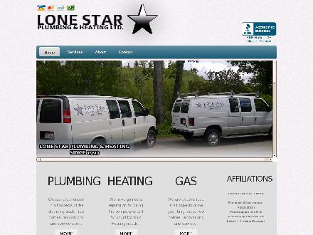 Lone Star Plumbing & Heating Ltd (403-295-3028) - Website thumbnail - http://www.lonestarplumbing.ca