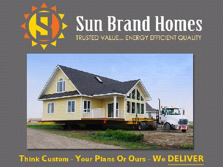 Sun Brand Corporation (1-888-933-3735) - Website thumbnail - http://www.sunbrandhomes.com