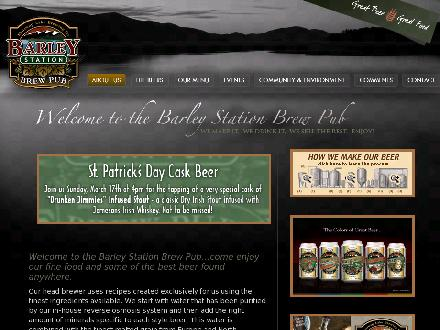 Barley Station Brewpub (250-832-0999) - Website thumbnail - http://www.barleystation.com