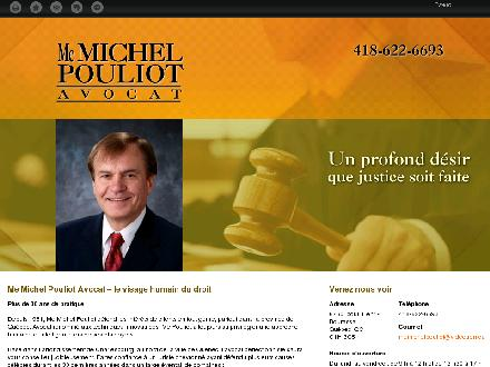 Pouliot Michel (418-622-6693) - Website thumbnail - http://memichelpouliot.ca/