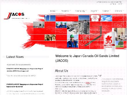 Japan Canada Oil Sands Ltd (403-264-9046) - Onglet de site Web - http://www.jacos.com