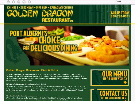 Golden Dragon Restaurant (250-723-8641) - Website thumbnail - http://goldendragonchineserestaurant.ca/