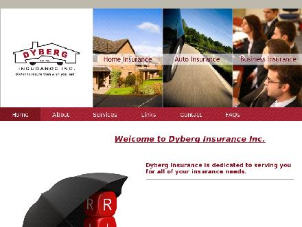 Dyberg Insurance Inc (780-412-1566) - Website thumbnail - http://www.dyberginsurance.com
