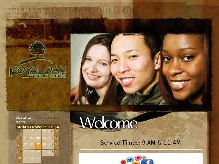 Royal Oak Victory Church (403-286-4477) - Website thumbnail - http://www.rovc.ca