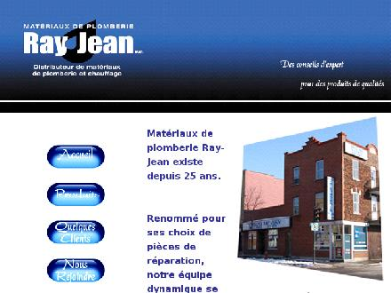 Mat&eacute;riaux de Plomberie Ray Jean (514-522-1179) - Website thumbnail - http://www.rayjean.qc.ca