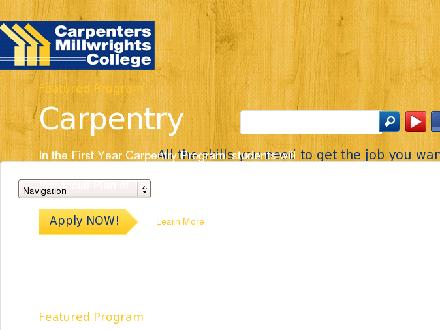 Carpenters Millwrights College (709-364-5586) - Website thumbnail - http://www.cmcnl.ca