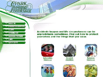 Park Georgia Insurance Agencies Ltd (604-688-2323) - Onglet de site Web - http://www.pgins.com