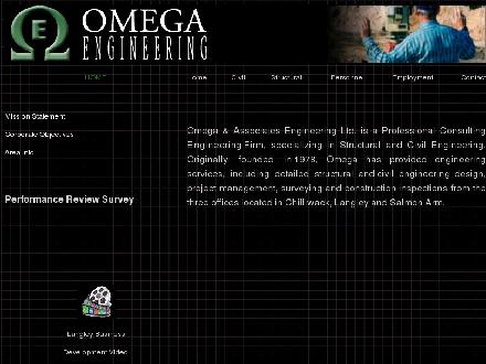 Omega & Associates Engineering (1-866-528-8801) - Website thumbnail - http://www.omegaassoc.com