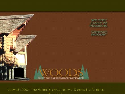 Natural Stain Company of Canada Inc (403-232-6333) - Onglet de site Web - http://www.woodsfinish.net