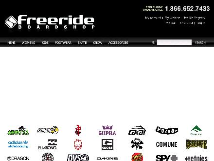 Freeride Board Shop (250-487-7433) - Website thumbnail - http://www.freerideboardshop.com