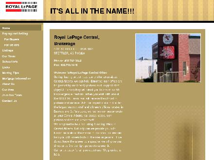 Royal LePage Central (403-740-4163) - Website thumbnail - http://www.royallepage.ca/stettler