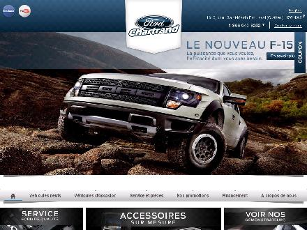 Chartrand Ford (Ventes) Inc (450-232-5217) - Onglet de site Web - http://www.chartrandford.com
