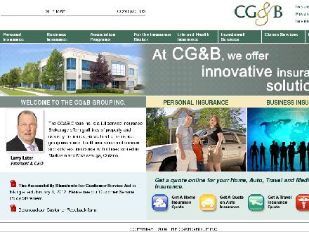 CG&B Group The Inc (905-615-8641) - Website thumbnail - http://www.cgbgroup.com