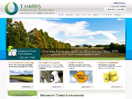 Gestion Environnementale T Harris Inc (450-465-9990) - Website thumbnail - http://www.tharris.ca