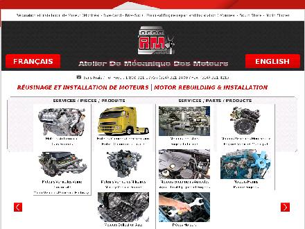 Moteurs R M (Les) (514-321-2400) - Onglet de site Web - http://www.rmmoteur.com