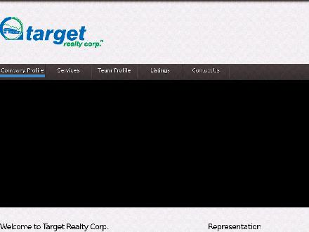 Target Realty Corp (403-253-3060) - Onglet de site Web - http://www.target-realty.com