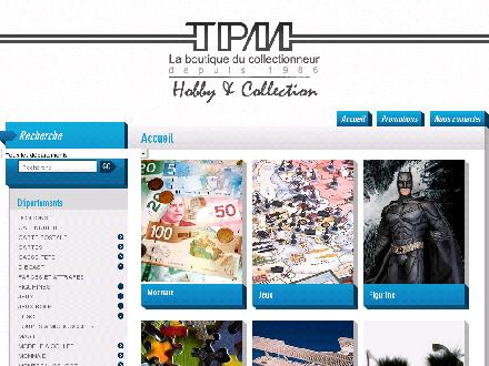 TPM Hobby &amp; Collection (418-614-7876) - Onglet de site Web - http://www.boutique-tpm.com/
