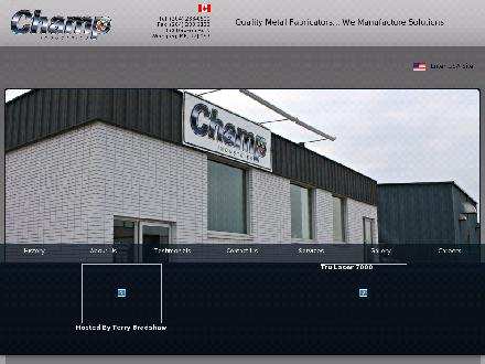 Champ Industries (204-233-0500) - Onglet de site Web - http://www.champindustries.ca